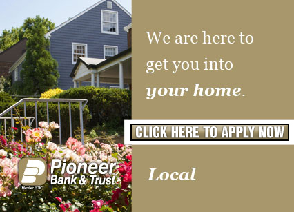 We are here to get you into your home. Local Home Loans.