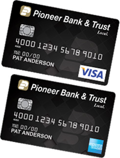 Visa and American Express Credit Cards