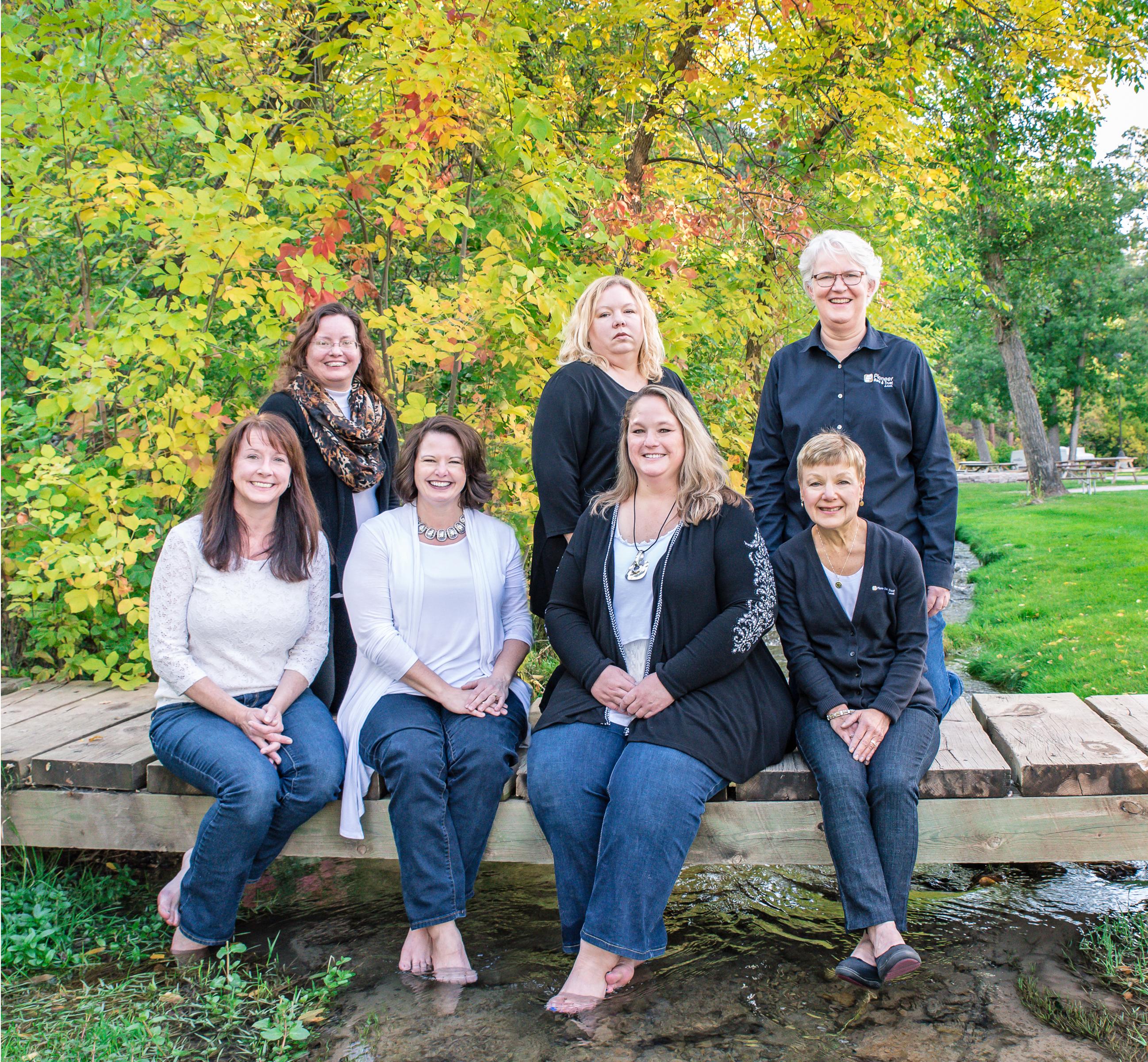 Belle Fourche: Front Row: Cherie, Melynda, Brenda, Amy & Marcie Back Row: Michelle, Linda, Betty & Sandy